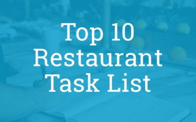 Top 10 Focus Areas for Restaurants During COVID